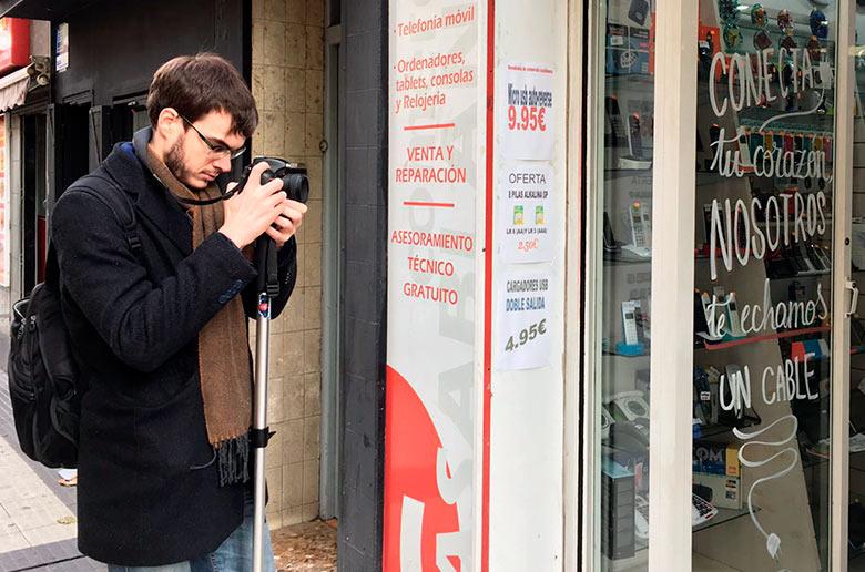 12-Grabando-un-vídeo-creativo-en-Zaragoza