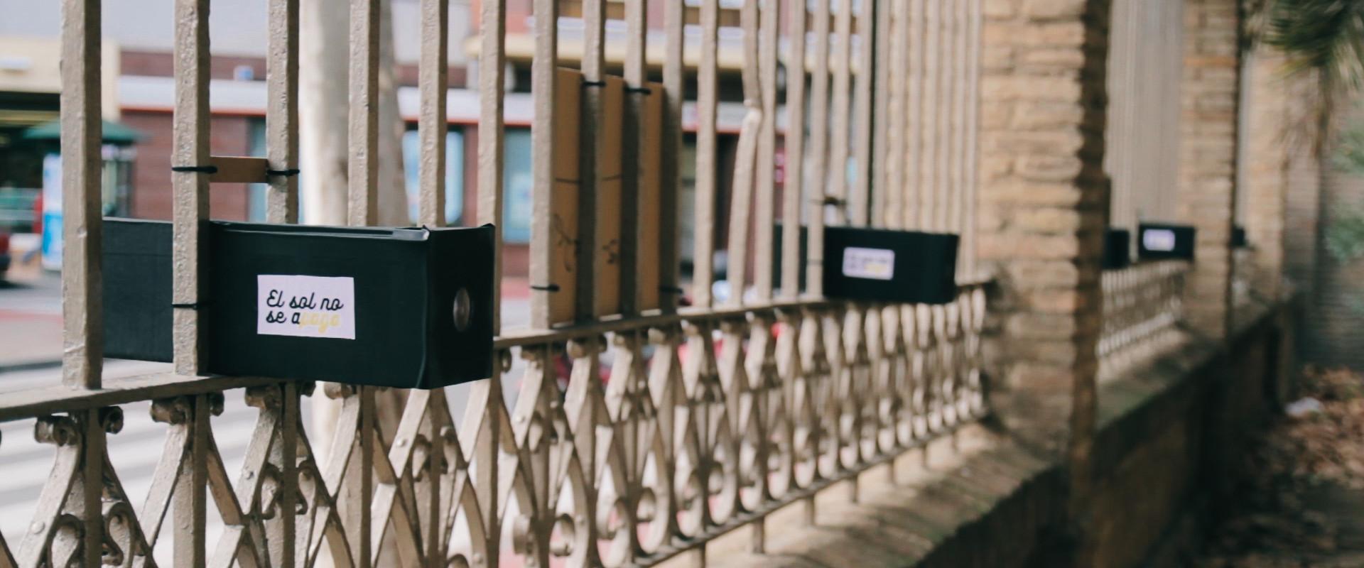 El sol no se A-paga | Intervención urbana de guerrilla