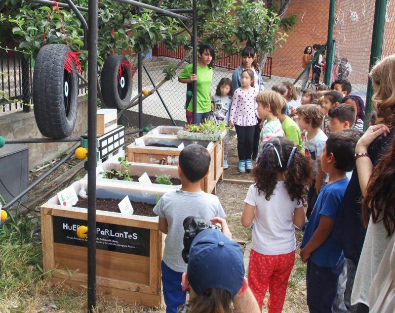 Huertos Parlantes |Proyecto de huertos escolares y tecnología