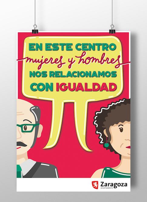 Campaña de igualdad de género |Diseño gráfico