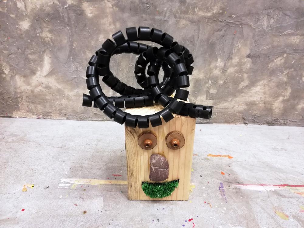 Recreando Estudio Creativo taller reciclaje reutilización