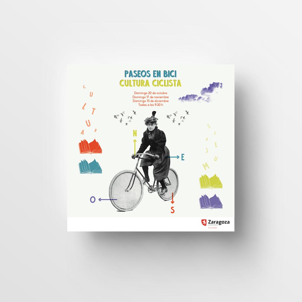 Diseño gráfico de cartelería por Recreando Estudio Creativo Zaragoza