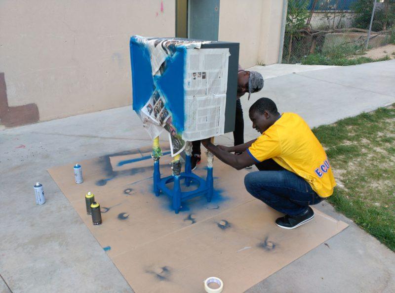 Proyecto de recuperación y transfromación de muebles para darles una segunda vida_Recreando Estudio
