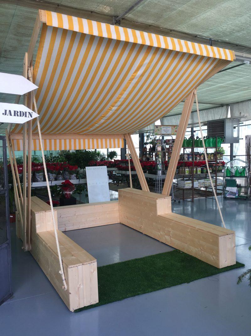 Quiosco de madera | Diseño de objetos