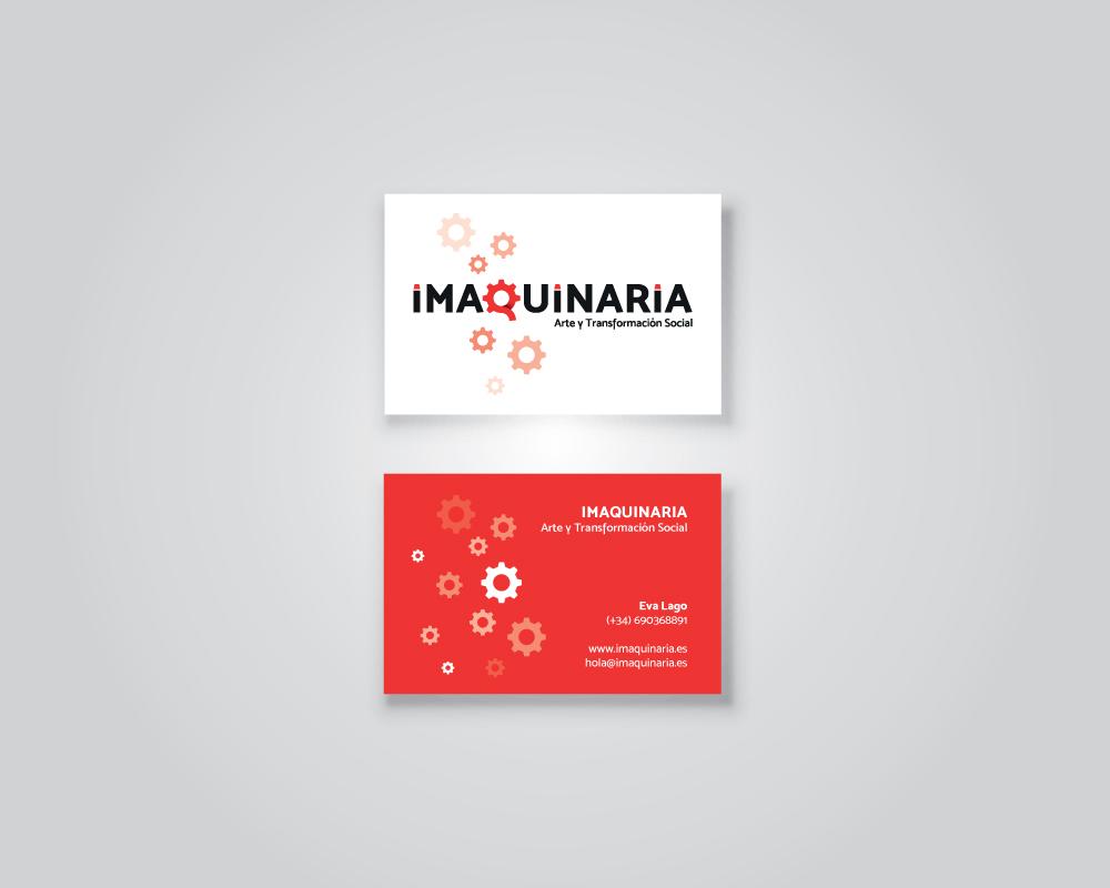 Diseño identidad gráfica para La Imaquinaria Recreando Estudio Creativo