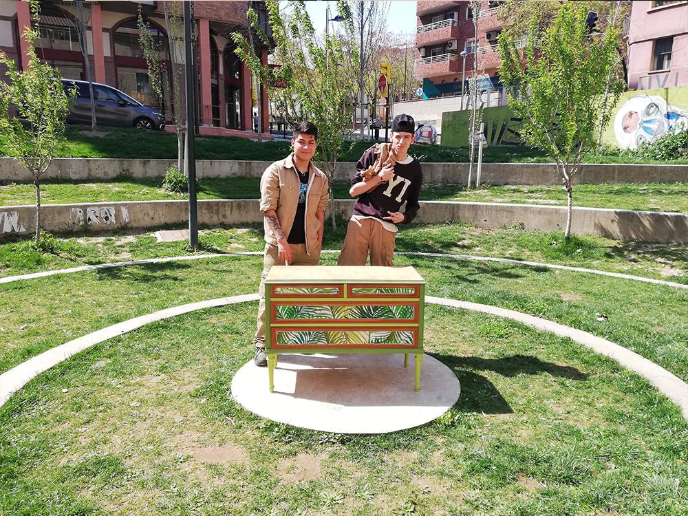 Recuperación de muebles en Harinera Zgz