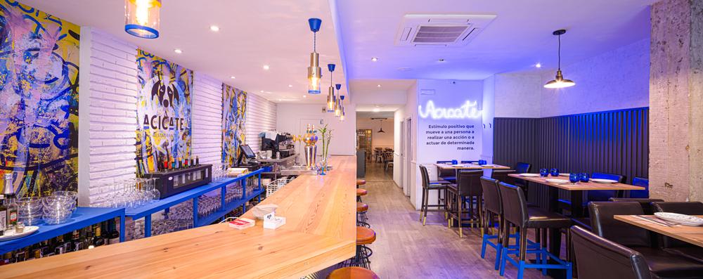 Restaurante Acicate | Diseño de espacio