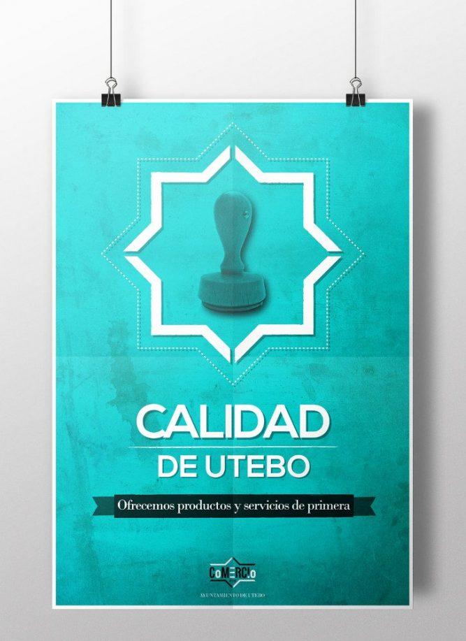 Comercio de Utebo | Diseño de campaña gráfica