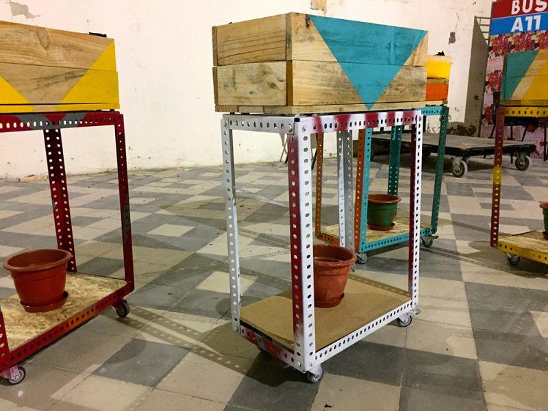 Huertos itinerantes | Taller participativo de construcción de huertos sociales