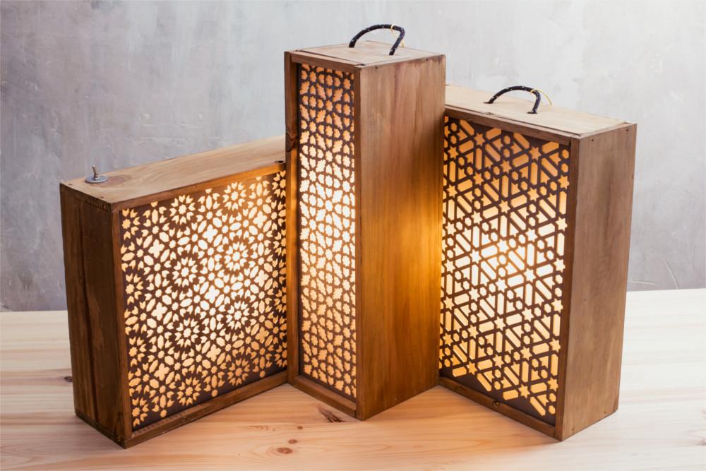 Diseño Lámparas Mudayyan