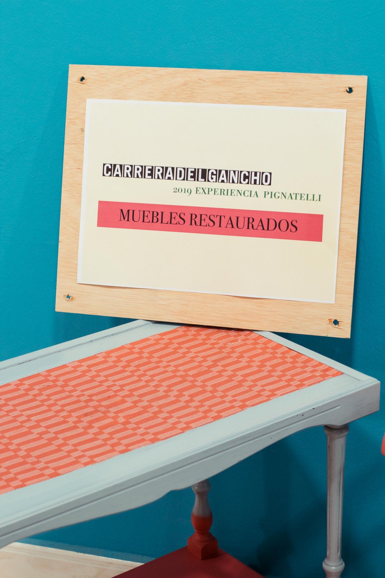 Muebles recuperados y restaurados en La Carrera del Gancho