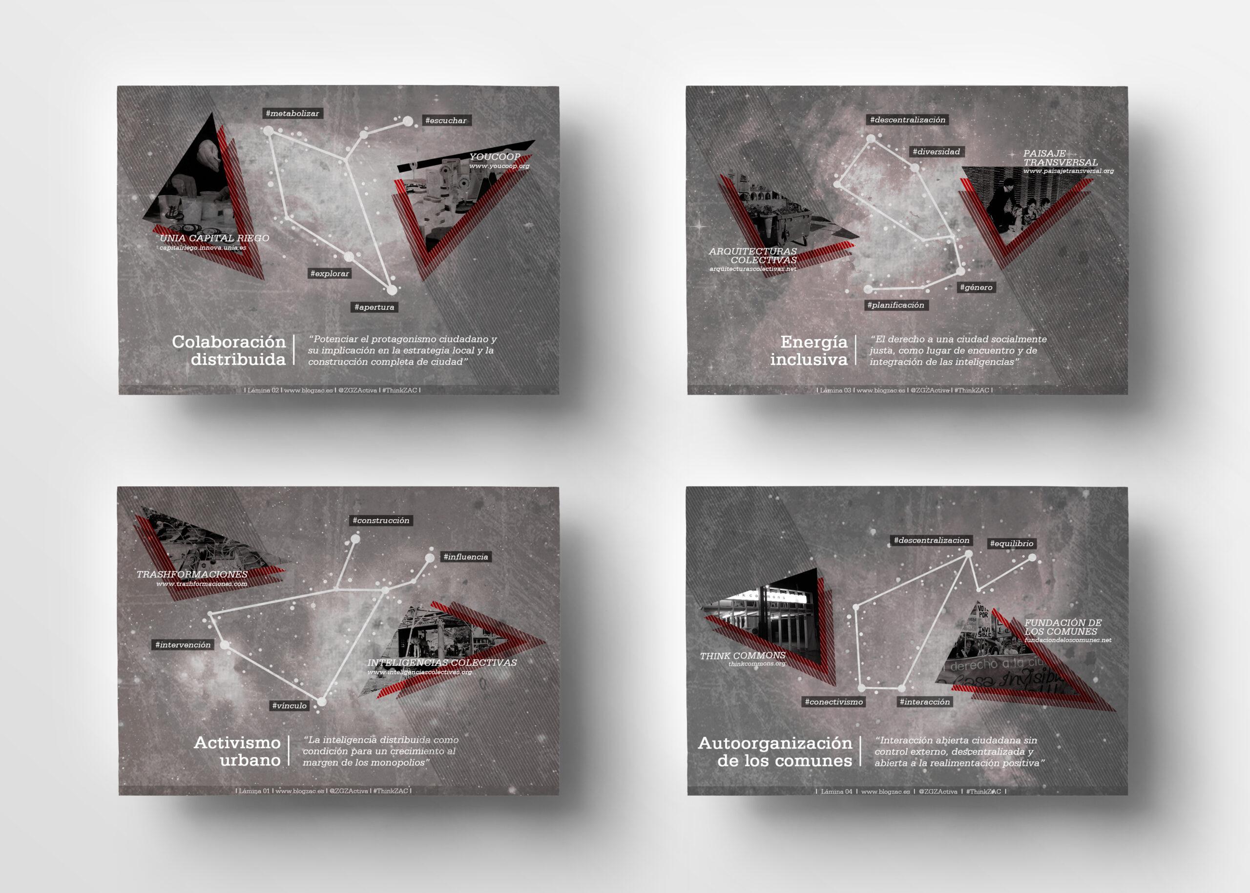 Láminas Think ZAC | Diseño gráfico