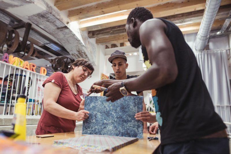 Trasfocados | Taller colaborativo de customización de mobiliario