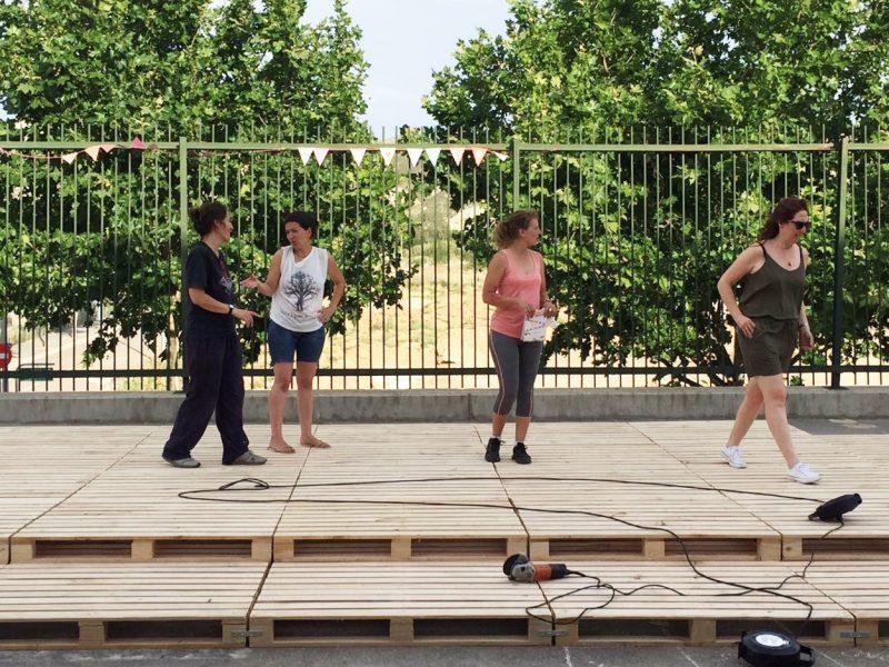 CEIP Foro Romano | Intervención participativa en el patio