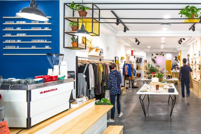 Vorne Concept Store | Diseño de mobiliario