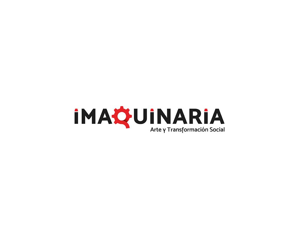 Imaquinaria, arte y transformación social | Diseño de logotipo
