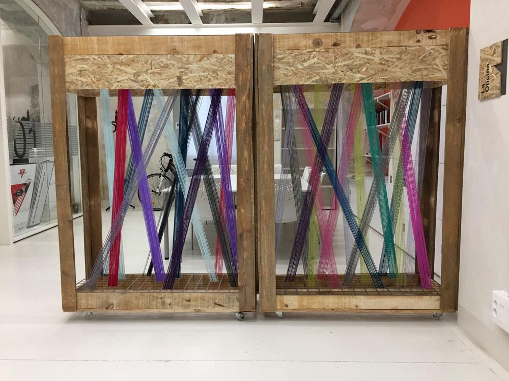 Mobiliario construido material reutilizado Recreando Estudio Creativo