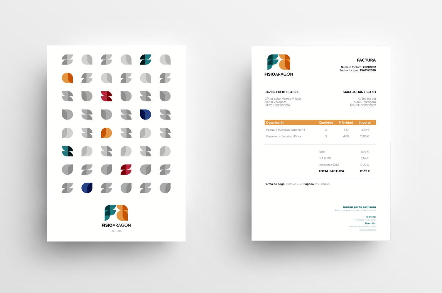 Diseño gráfico logotipo Recreando Estudio Creativo