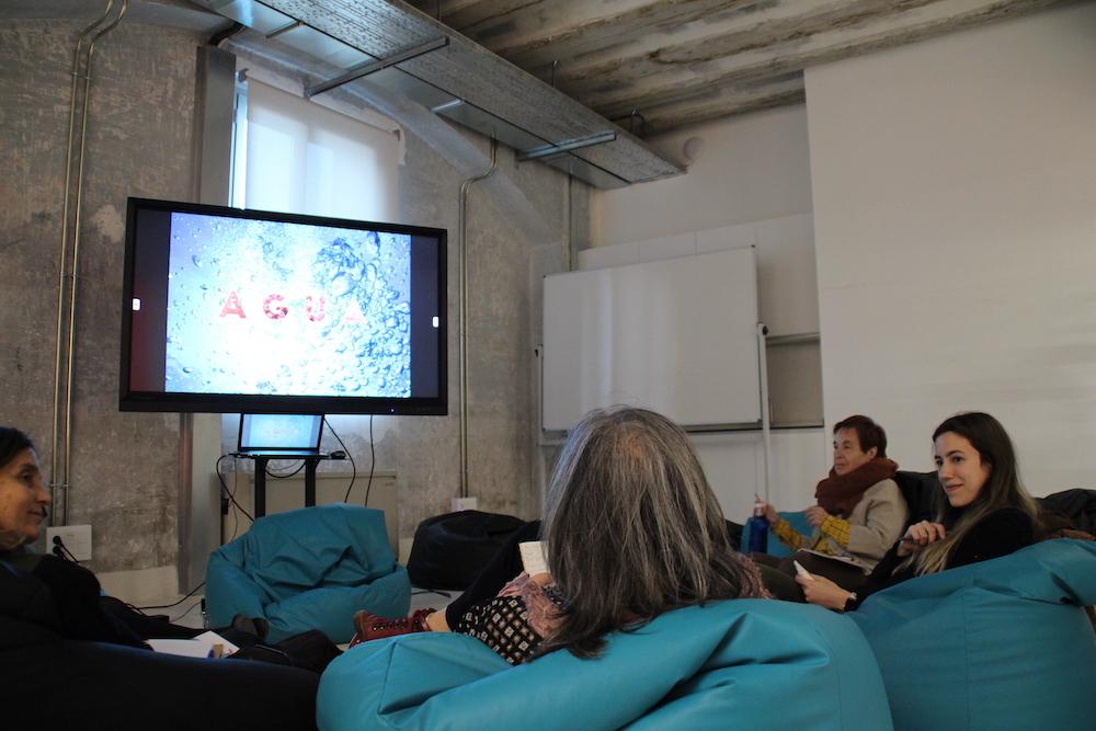 Recreando Estudio Creativo taller creativo de palabra y creación gráfica colaborativa con Sofia Diaz Gotor