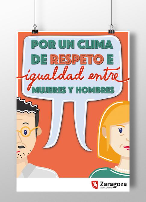 Campaña de igualdad Ayuntamiento Zaragoza