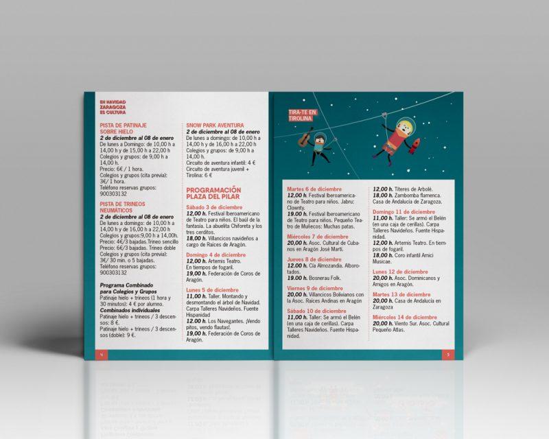 Campaña gráfica Navidad 2016 Zaragoza