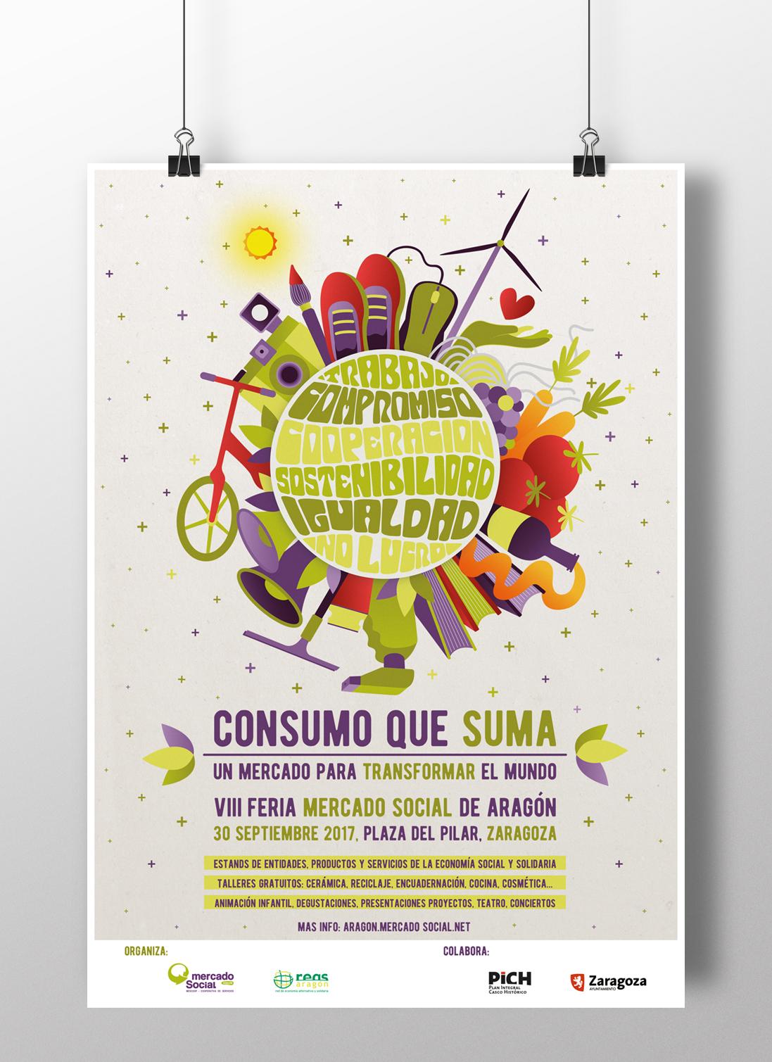 Imagen grafica Mercado Social Aragon
