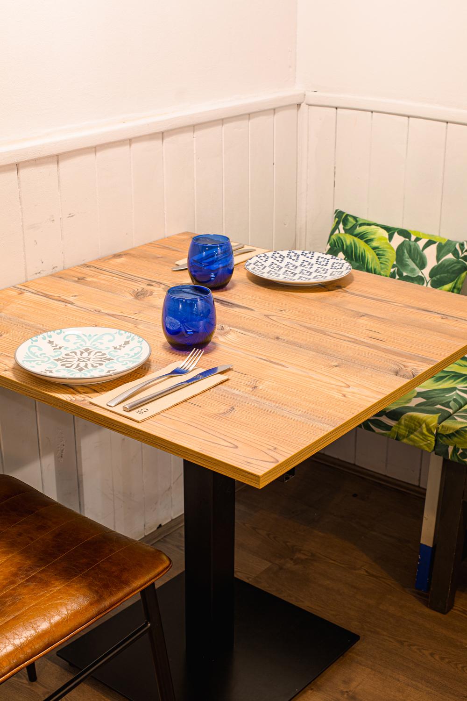 Diseño de interiores Restaurante Acicate Recreando Estudio Zaragoza