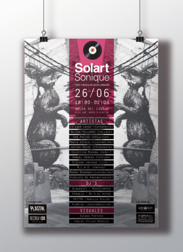 Cartel Solart Sonique 600
