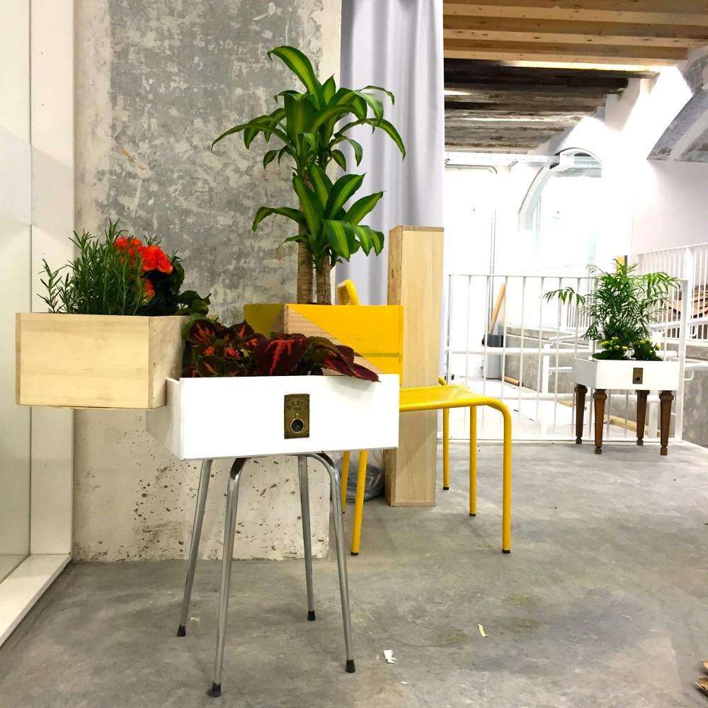 Portfolio Recreando Estudio # Muebles Reutilizables
