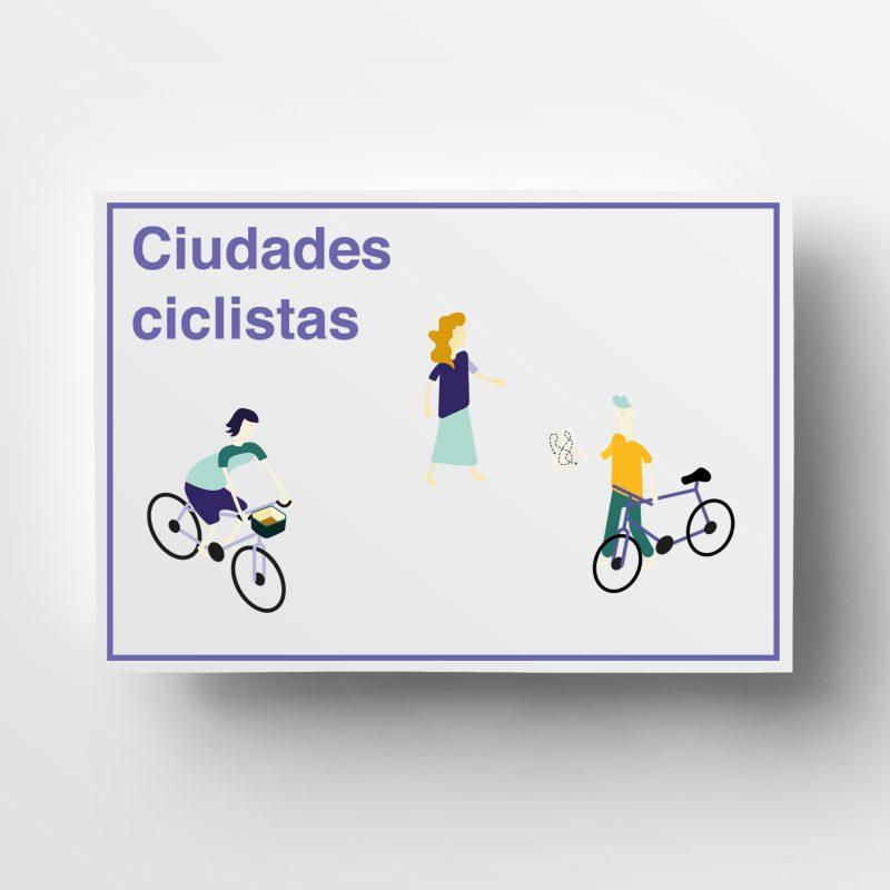 Imagen gráfica para Zaragoza La ciudad de las bicis
