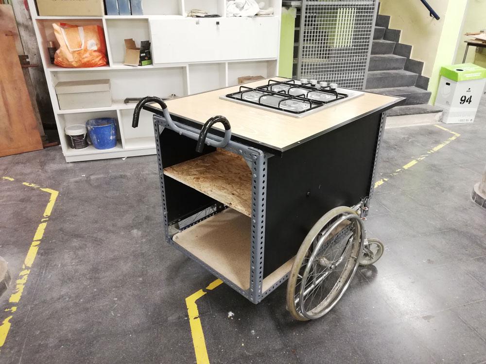 Taller de diseño y autoconstrucción de cocina con materiales recuperados y reciclados